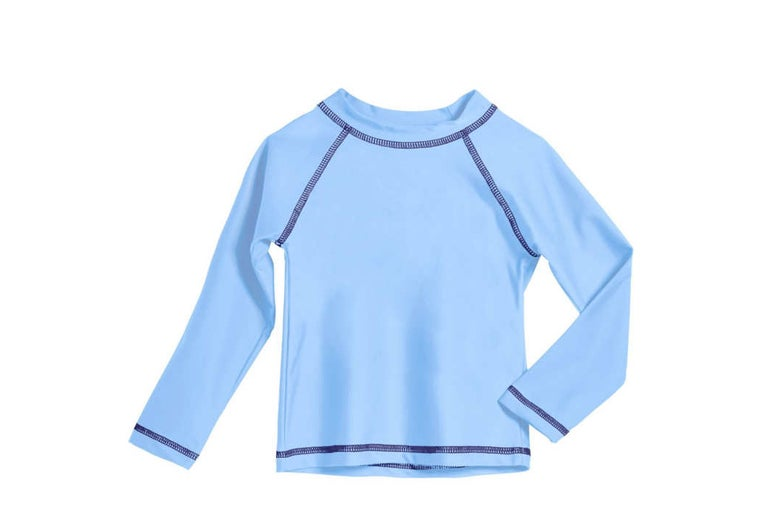 City Threads Little Boys and Girls Rash Guard Swimming Tee SPF 50+ (2T-6 Years).