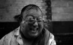 Laurence R. Harvey in The Human Centipede II.