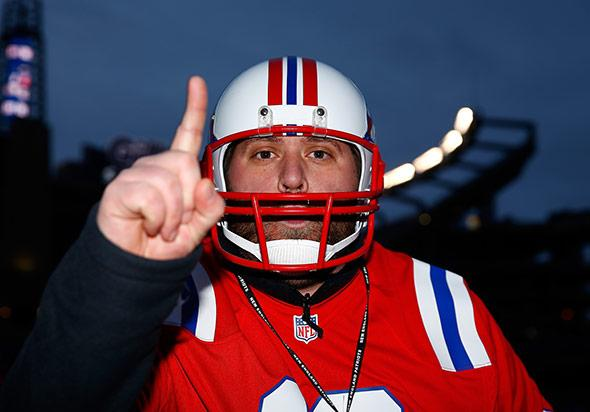 A New England Patriots fan.