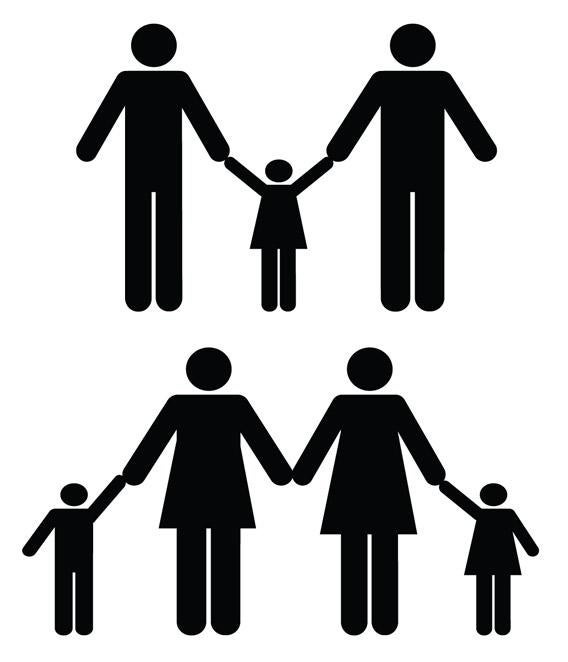 Gay and lesbian parents with children