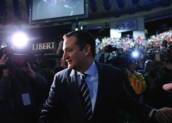U.S. Sen. Ted Cruz.