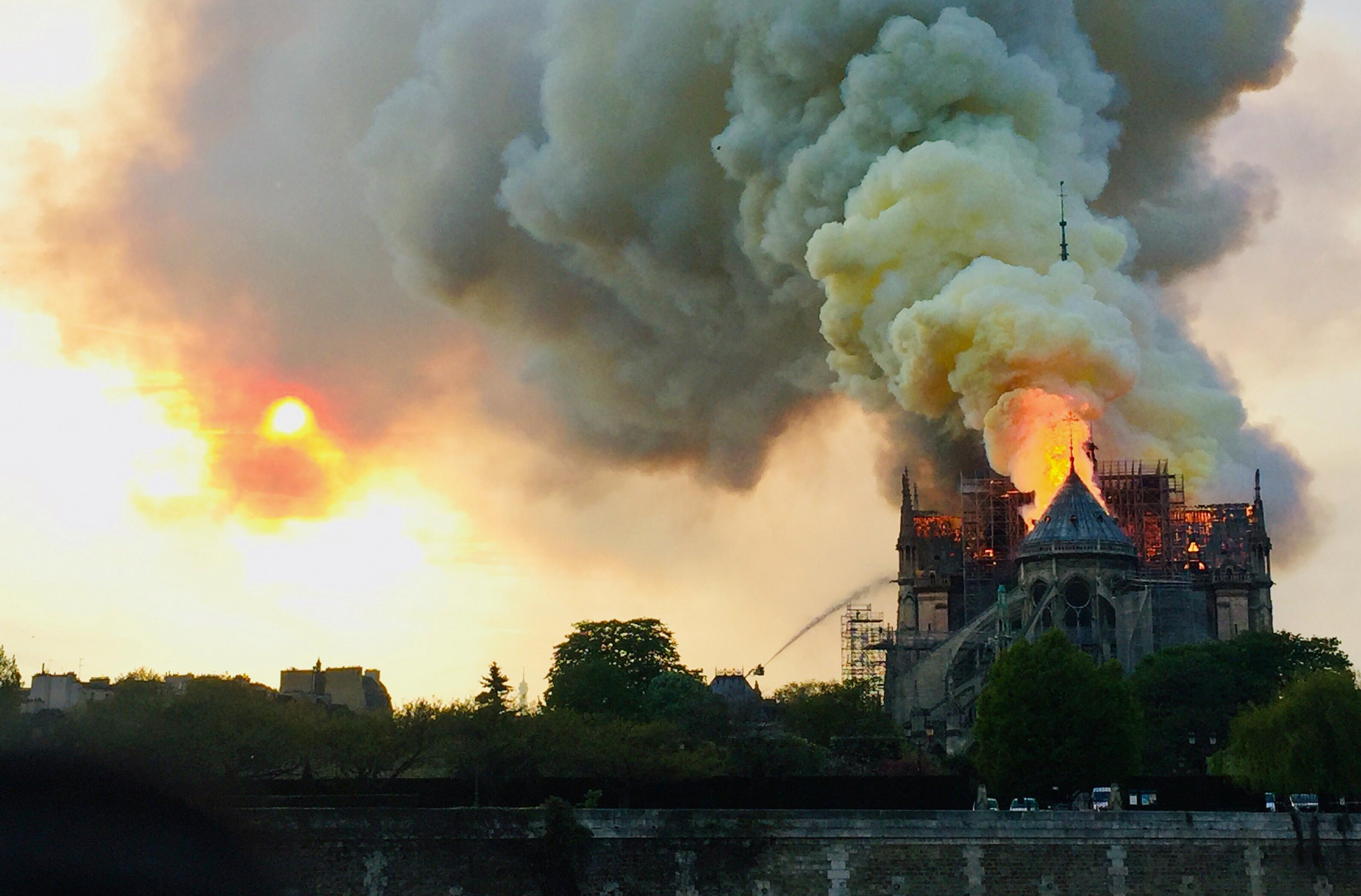 Notre Dame Fire Authorities Blame Renovations For Massive