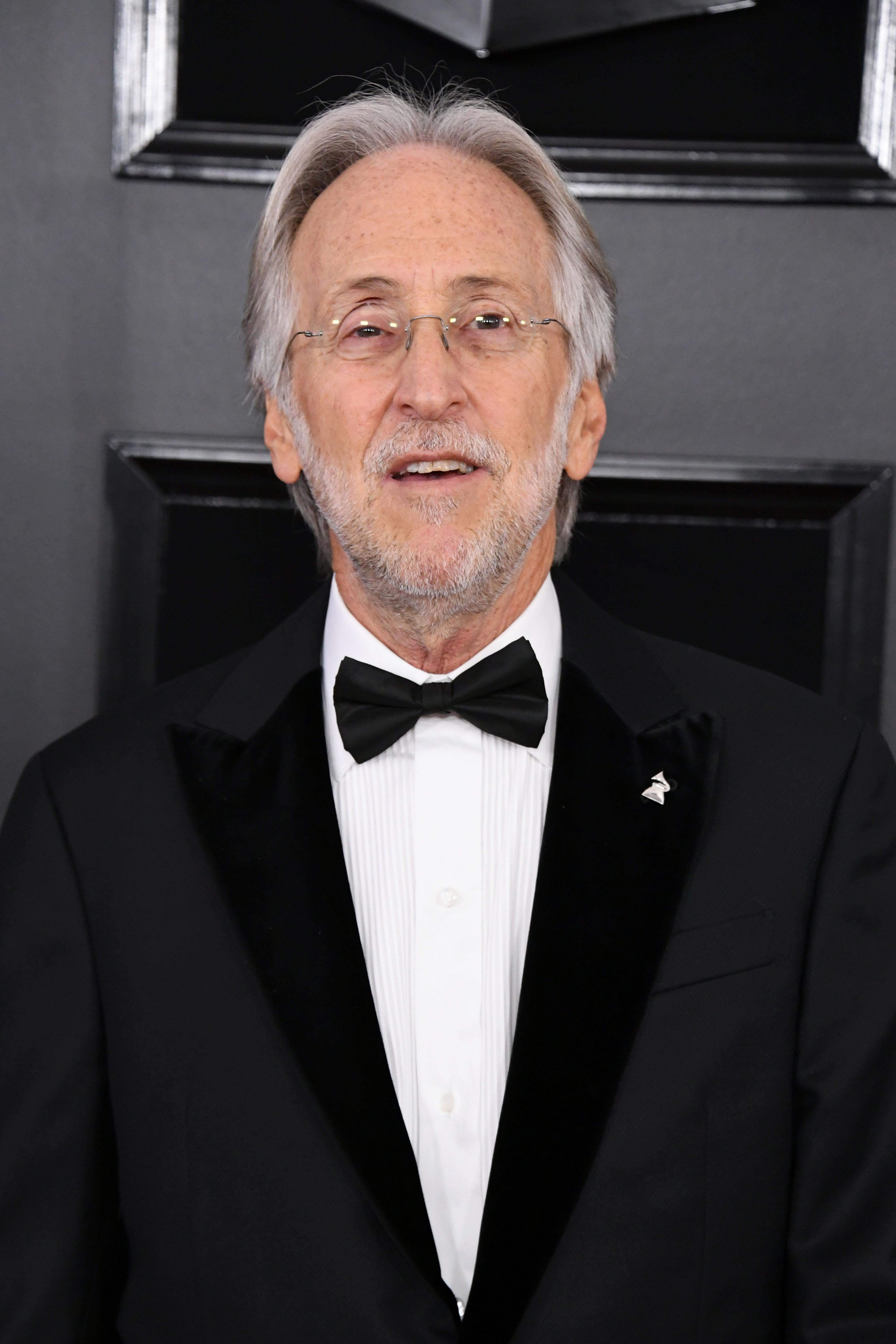 Recording Academy President Neil Portnow attends the 61st Annual GRAMMY Awards at Staples Center on February 10, 2019 in Los Angeles, California. (Photo by Jon Kopaloff/Getty Images)