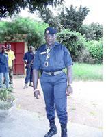 Chief Mobio, the commander of Genie Company