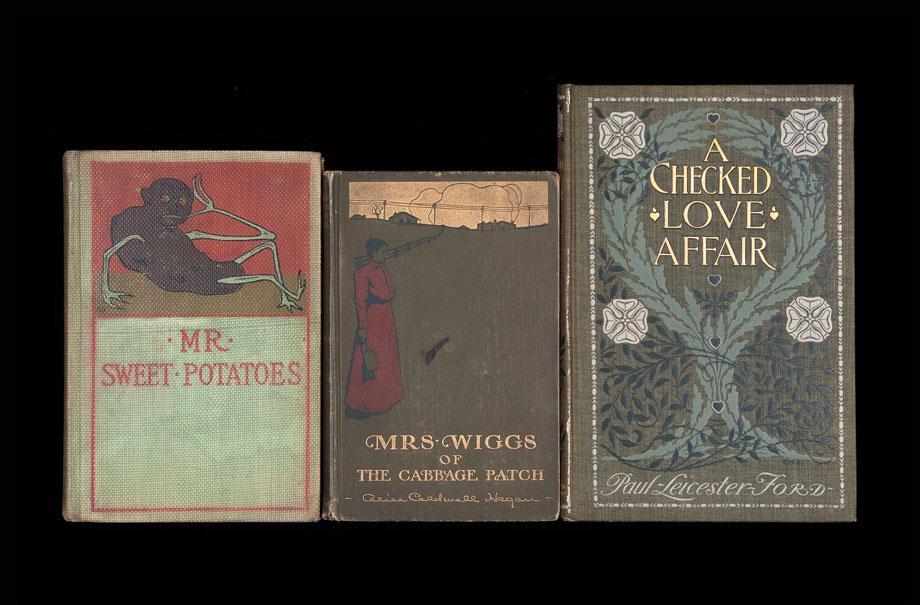 Nina Katchadourian's Sorted Books