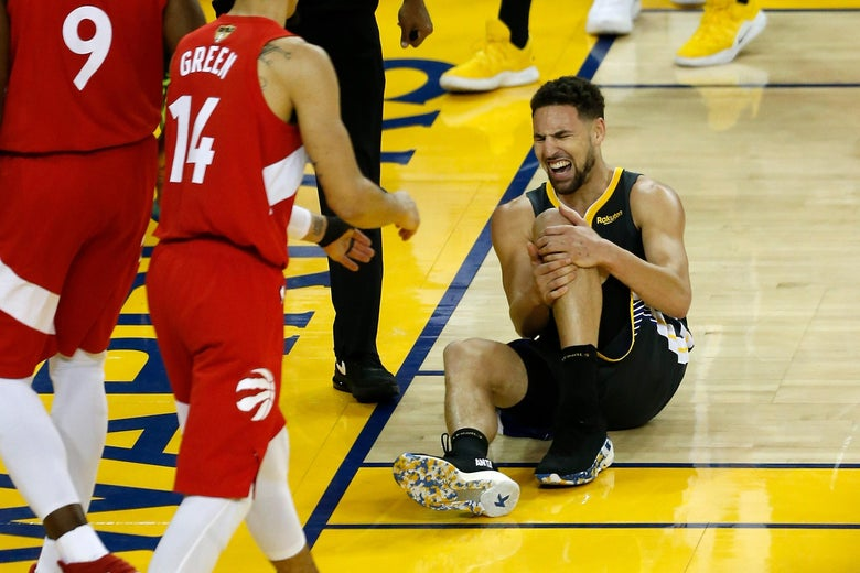 A Torn Tendon and a Torn Ligament Kneecapped the Warriors and Upended the Entire NBA