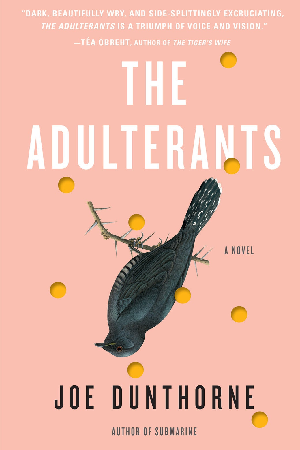 Book cover: The Adulterants.