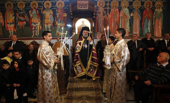 a greek orthodox mass