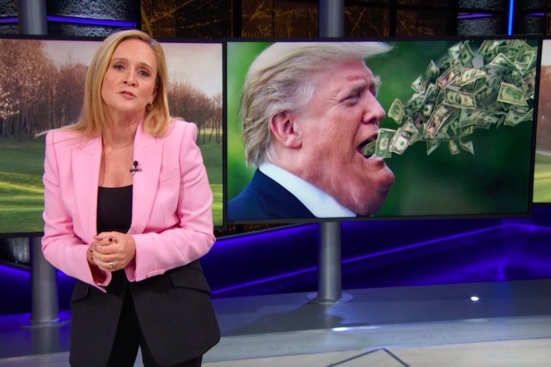Samantha Bee: This Isn't the Worst Thing Trump Has Done, But It's Still Pretty Bad