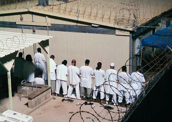 Detainees at Gauntanamo Bay