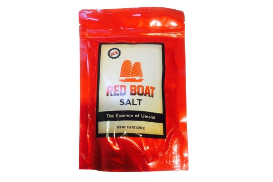 Red Boat Fish Salt.