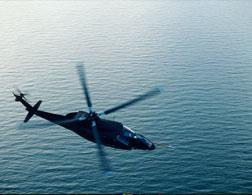 A shadow helicopter in flight. Click image to expand.