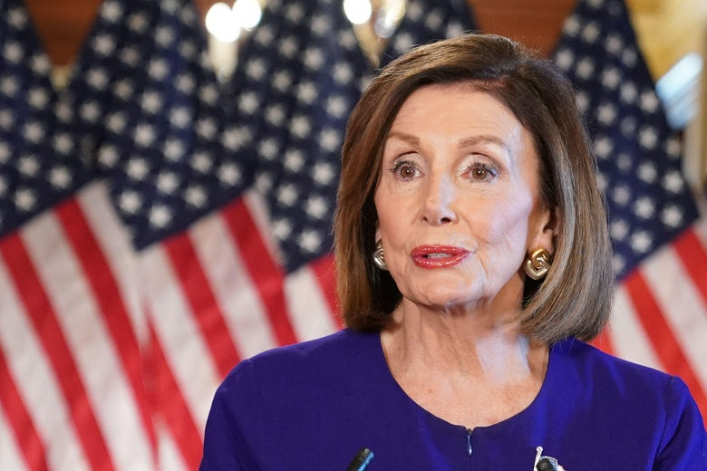 House Speaker Nancy Pelosi announces a formal impeachment inquiry of President Trump on Tuesday.