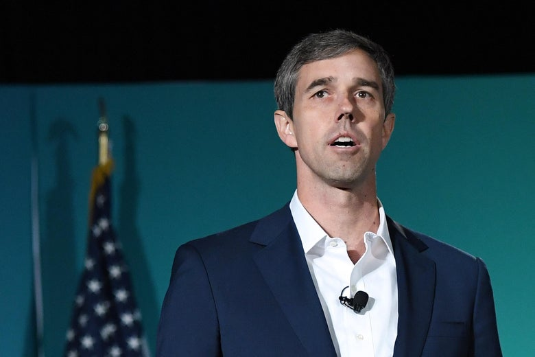 Beto O'Rourke speaking.