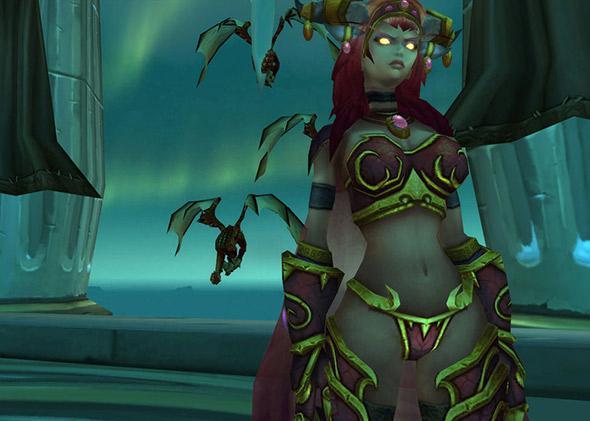 Alexstrasza avatar in World of Warcraft.