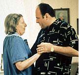 Nancy Marchand and James Gandolfini