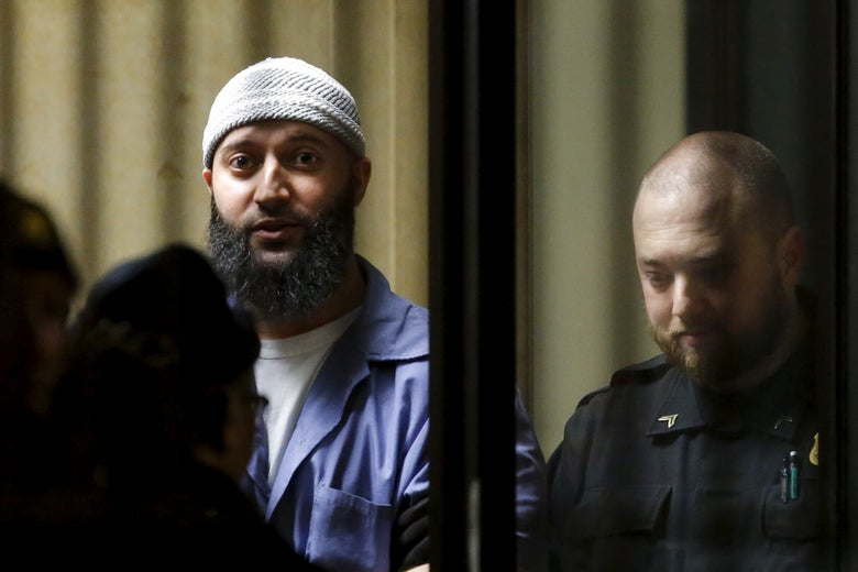 Convicted murderer Adnan Syed leaves the Baltimore City Circuit Courthouse in Baltimore, Maryland February 5, 2016.