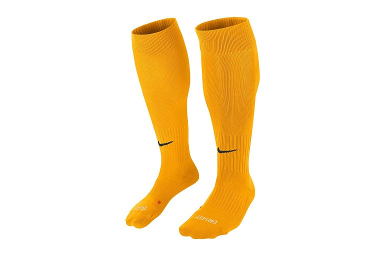 Over-the-calf athletic socks