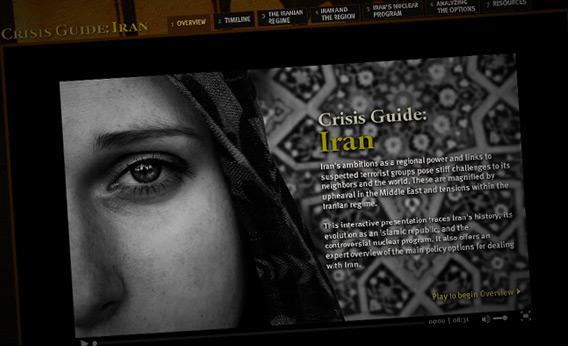 crisis guide: Iran
