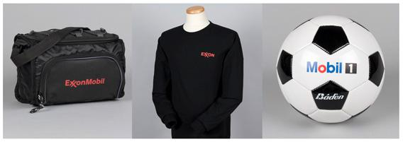 Exxon Mobil corporate merchandise