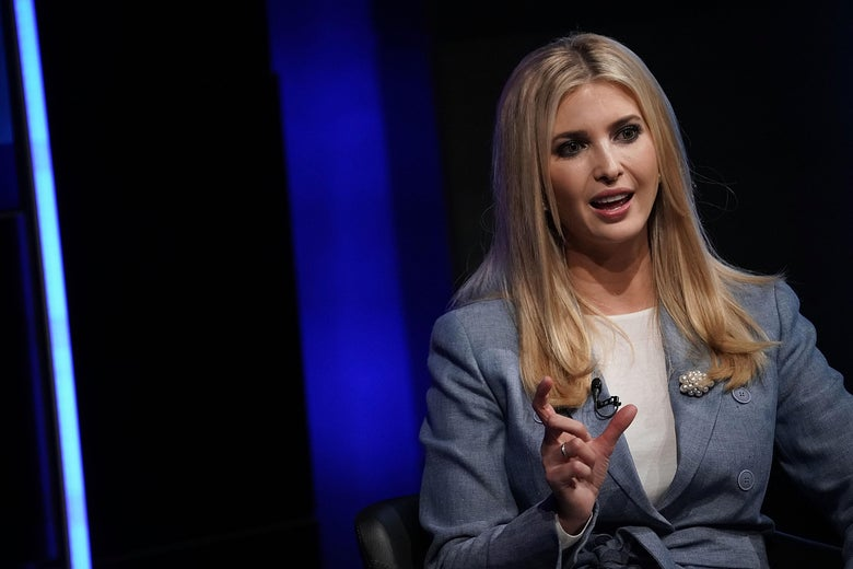 Ivanka Trump speaks during an Axios360 News Shapers event on Aug. 2 at the Newseum in Washington.