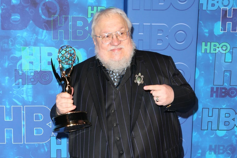 Game Of Thrones' George R. R. Martin Scores Warner Bros