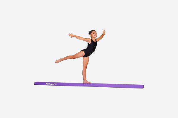Springee 9ft Folding Gymnastics Beam for Home