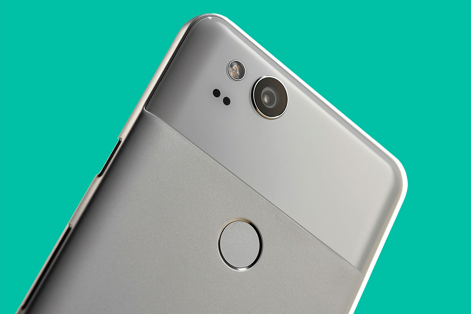 The 12-megapixel camera on a Google Pixel 2.