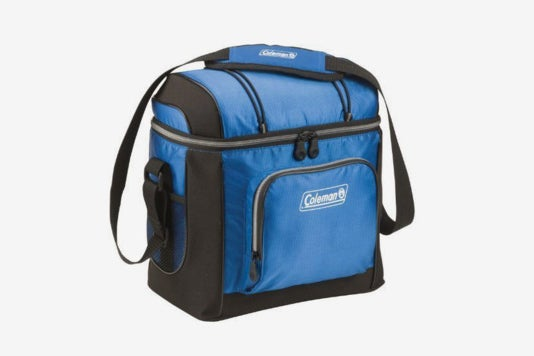 Coleman 16-Can Soft Cooler With Hard Liner.