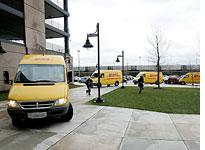 DHL trucks. Click image to expand.