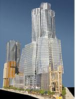"Gehry's ""Miss Brooklyn."""
