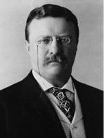 President Theodore Roosevelt. Click image to expand.
