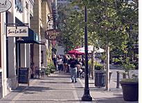 Santana Row in San Jose, Calif. (Click on image to expand)