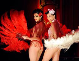 Burlesque performers. Click image to expand.