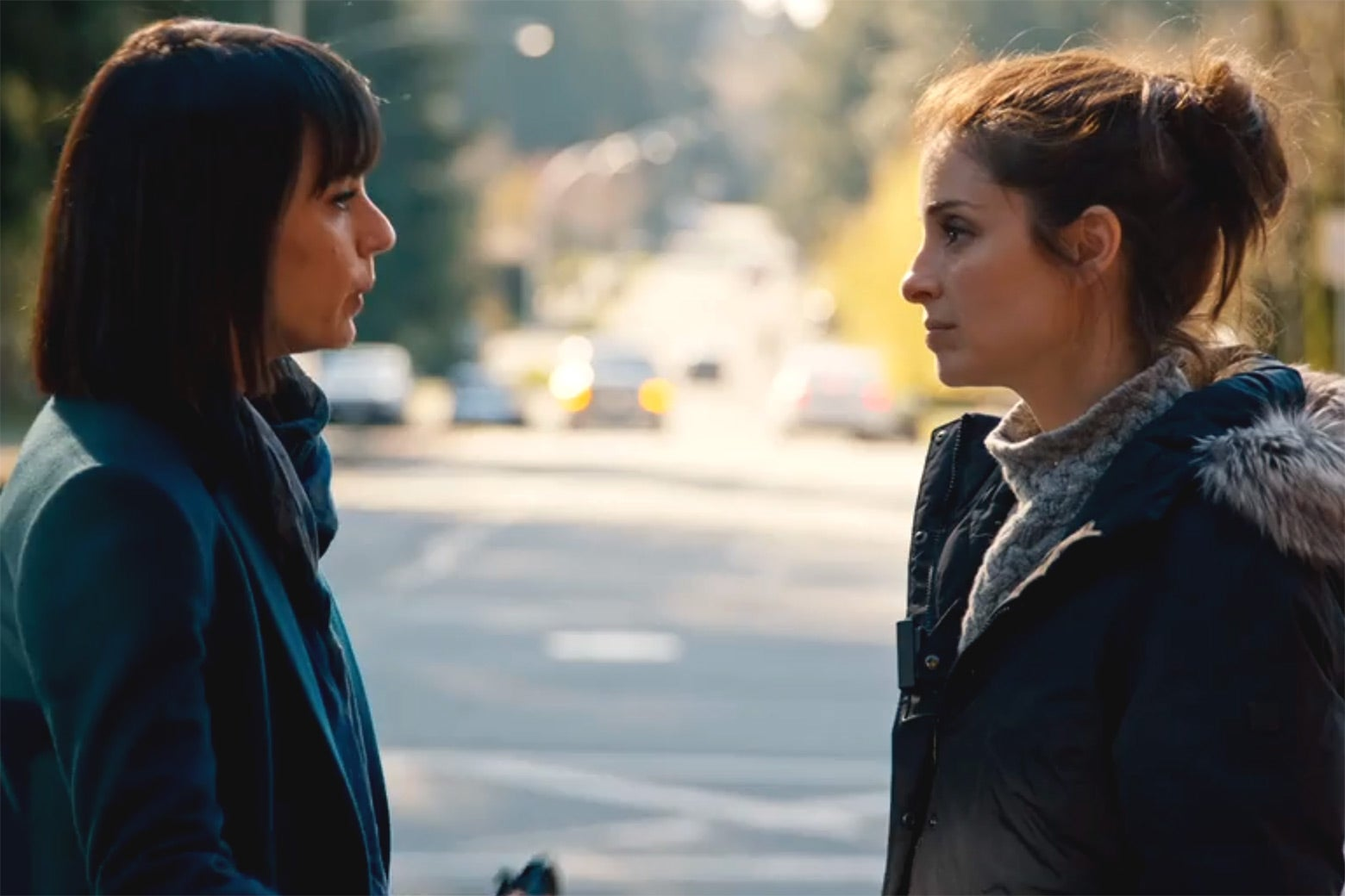 Constance Zimmer and Shiri Appleby in UnReal.