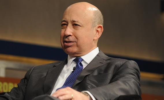 Lloyd Blankfein, Chairman and CEO of Goldman Sachs Group.