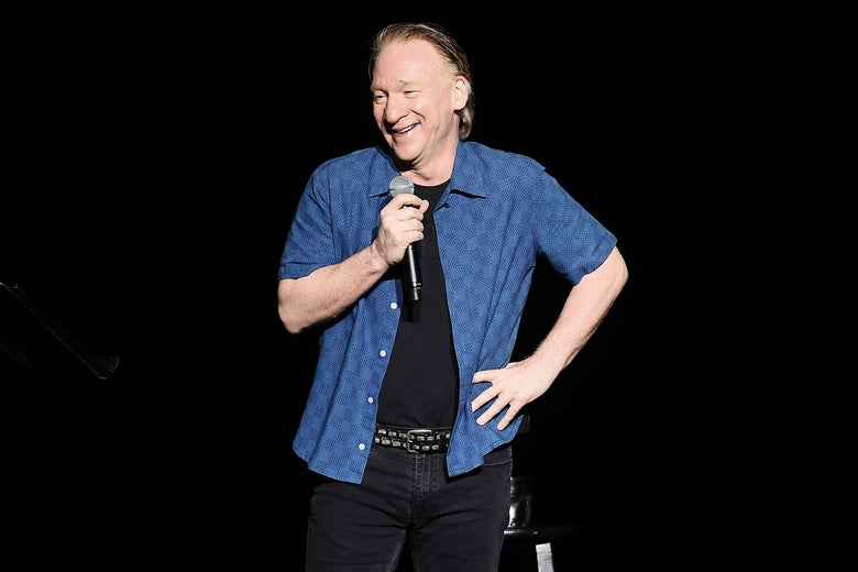 Bill Maher performs during New York Comedy Festival on November 5, 2016 in New York City.