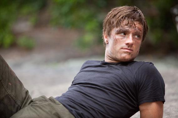 Josh Hutcherson stars as 'Peeta Mellark' in THE HUNGER GAMES.