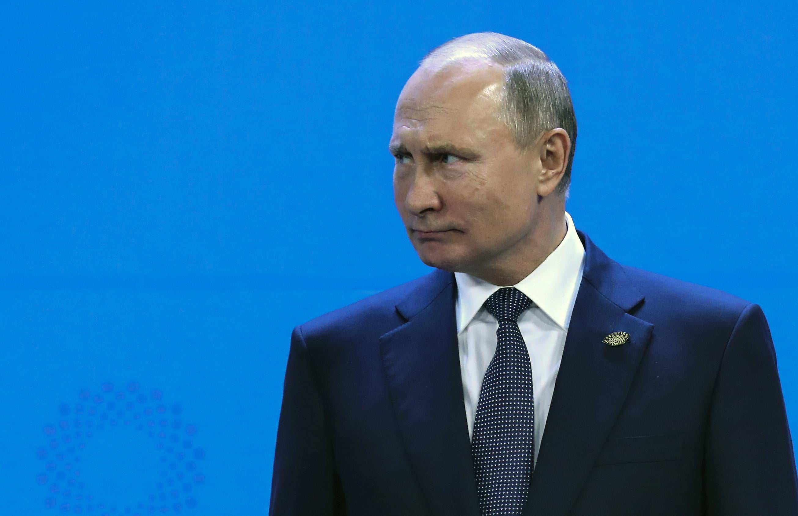 Vladimir Putin at the G20 Leaders' Summit photo in Buenos Aires