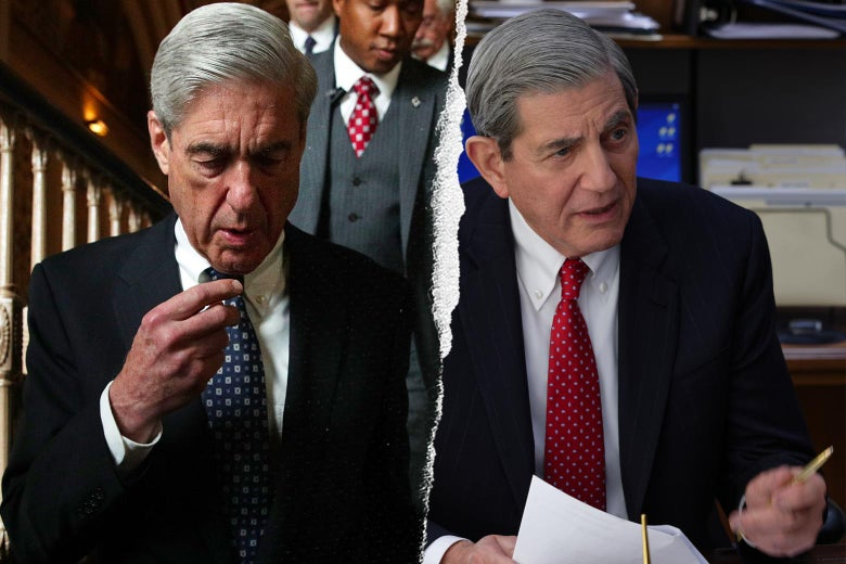 Robert Mueller, and Peter Coyote as Robert Mueller in The Comey Rule.