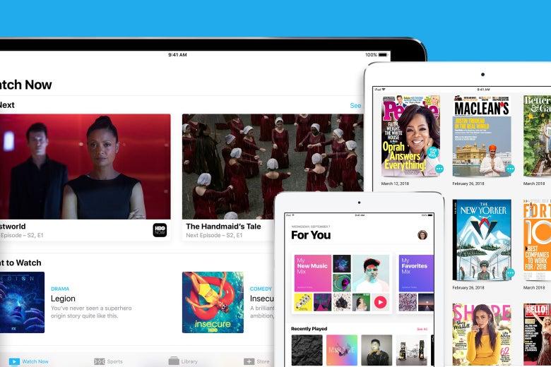 Apple media offering