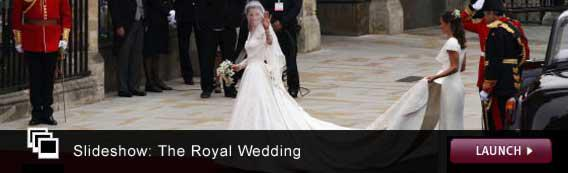 Click here to launch a slideshow on the royal wedding.