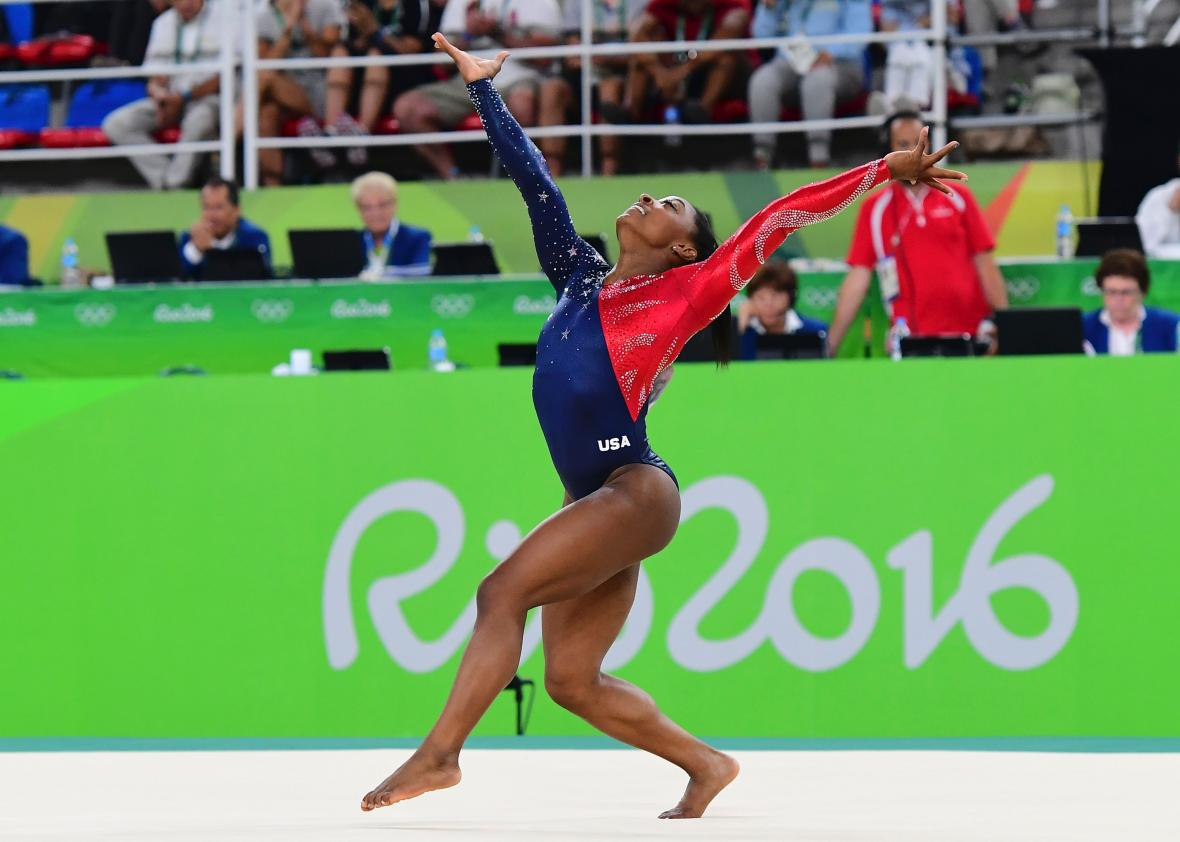 Gymnastics' Code of Points decrees you