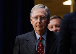 US Senate Minority Leader Mitch McConnell.