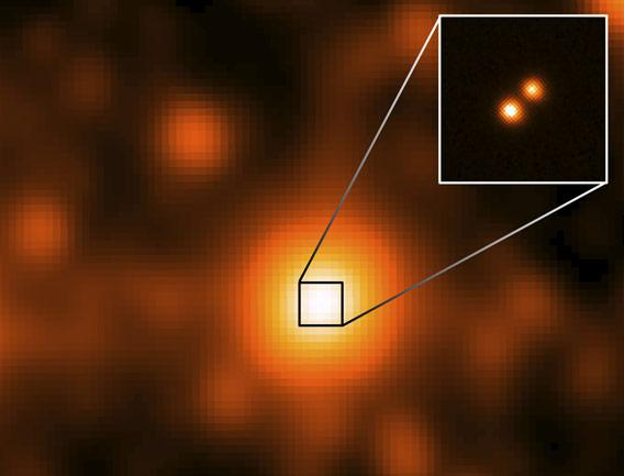 Image of third closest stars to the Sun
