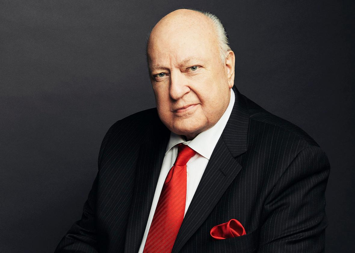 FOX News Channel Chairman and CEO Roger Ailes is photographed November 13, 2015 at the networks Manhattan headquarters New York City.