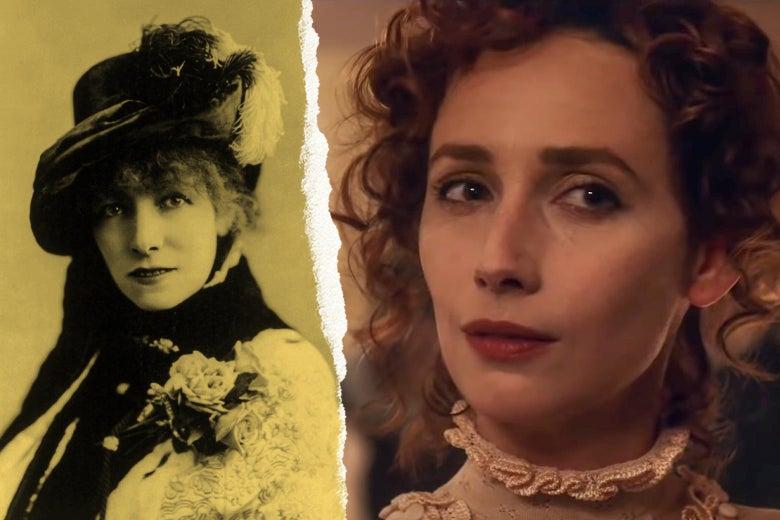 Sarah Bernhardt and Rebecca Dayan.
