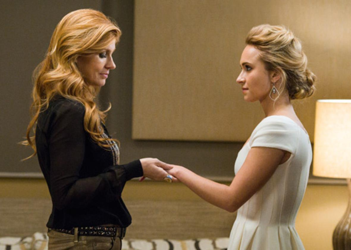 Connie Britton and Hayden Panettiere in ABC's Nashville.
