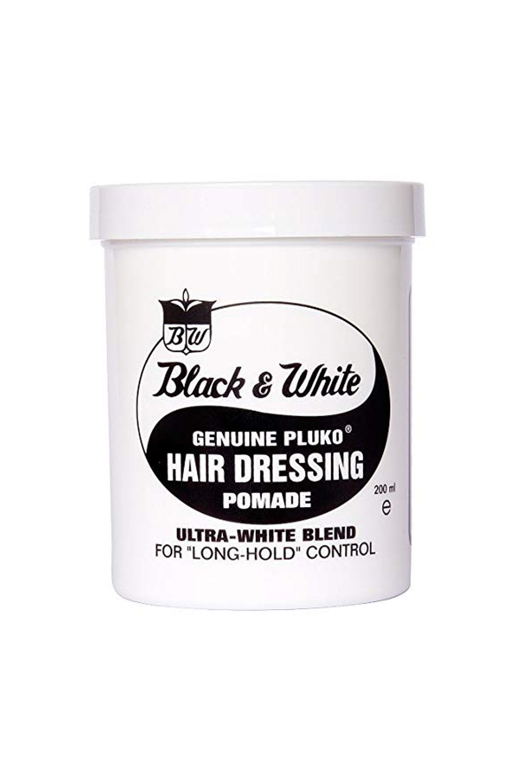 Black and White pomade.