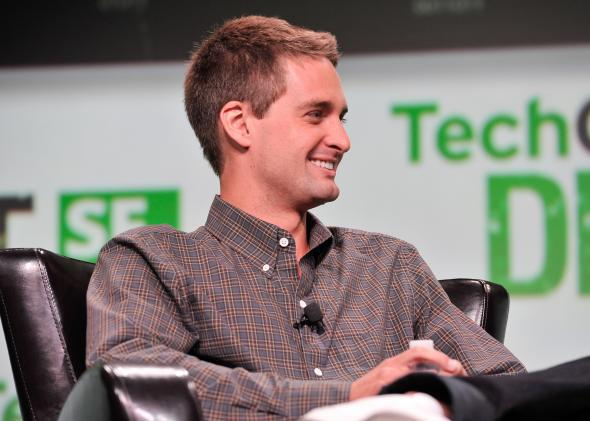 Snapchat's Evan Spiegel just turned down $3 billion reasons to smile.